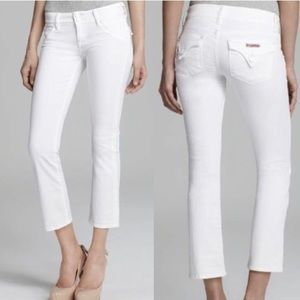 HUDSON Beth Baby Bootcut Jeans White - Size 29